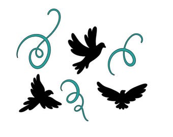 Flying Birds Vinyl Decal