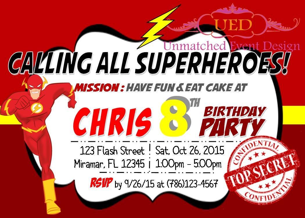 flash birthday invitations - Acur.lunamedia.co