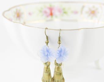 Vintage Rabbit Earrings, Little Girl Gift, Easter Gift, Rabbit Earrings, Bunny Earrings, Easter Bunny Earrings, Easter Gift, Rabbit Jewelry