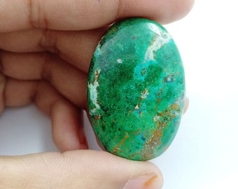 Natural Top Quality AAAChrysocolla gemstone, Chrysocolla Pendant, Chrysocolla Jewelry Chrysocolla stone, Chrysocolla cabochon 45x22x4mm