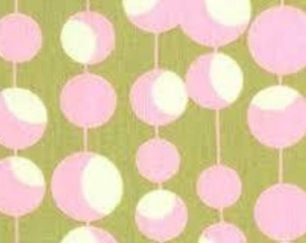 Amy Butler Martini Dot in Blush fabric for Rowan Fabrics from Midwest Modern. Very Rare Fabric!