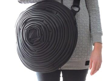Large BLACK  BAG, 15-18 inches diameter