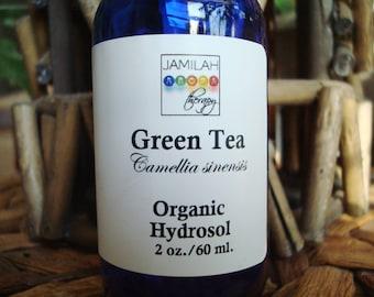 Green Tea Hydrosol | Organic Hydrosol | Green Tea | Camellia sinensis | Organic Green Tea | Anti-oxidant | Skin Care | Acne | Shrinks Pores
