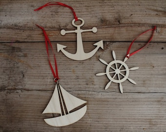 Nautical Themed Ornaments