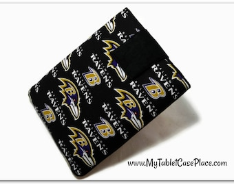 Handcrafted, Tablet Case, iPad Cover, Baltimore, Ravens, NFL, iPad Mini Case, Kindle Fire Cover, Tablet Sleeve, Cozy, FOAM Padding, Gift