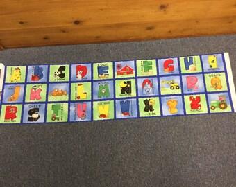 Barnyard Friends alphabet