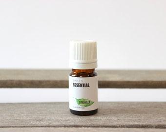 Citronella Essential Oil - Fresh Scent, Mosquito Repellent, Insect Repellent, Natural Bug Repellent, Simple is Essential, Pure Essential Oil