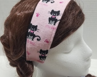 Pink Cat Hairband