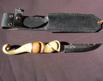Elven knife with sheath