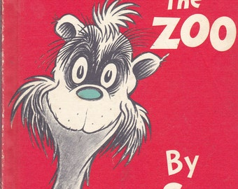 Children's Book:  If I Ran the Zoo by Dr. Seuss - McGrew's Zoo Random House Book C. 1958 - This Copy Renewed by Dr. Seuss 1978