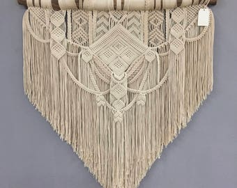 OTILA. Macrame wall hanging. Tapestry
