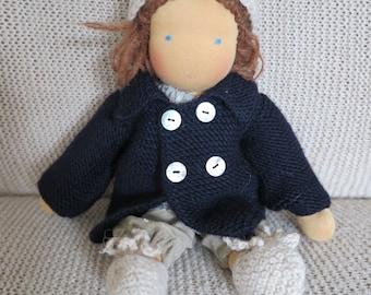 Doll Clothes 32-01inch dark blue
