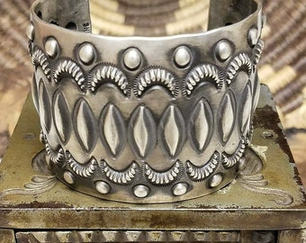 HUGE heavy Emerson Bill Navajo bracelet