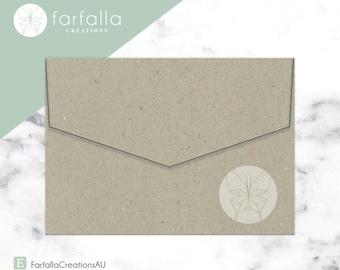 Botany  Envelopes 130x190mm // Pack 10 // Fits 5x7in Invites