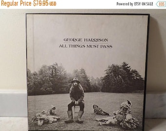 Save 30% Today Vintage 1970 Apple Records LP Set George Harrison All Things Must Pass Excellent Condition Box Set 14769