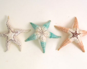 Vintage Style Spun Cotton Starfish Figure/Ornament (One Starfish) MADE TO ORDER