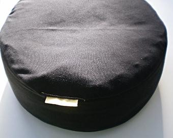 Buckwheat Zafu Meditation Cushion Pillow with or without Zabuton