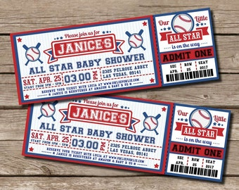 Invitation For Baby Shower Marvellous Baseball Themed Baby Shower