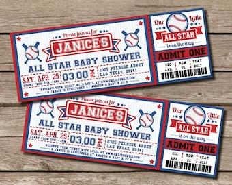 Invitation For Baby Shower Marvellous Baseball Themed Baby Shower