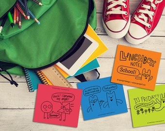 School Lunchbox Notes (Set of 24)
