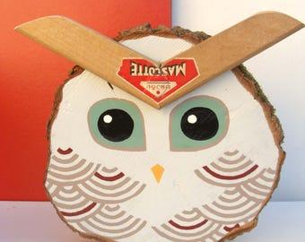 """Decorative wood """"Mascot"""""""