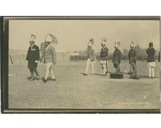 Vintage Snapshot Photo: Sri [Vasantha] Panchami Ceremony, c1910s [86691]