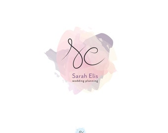 photography logo,boutique logo,branding package,small business branding,custom logo design,modern logo,blogger logo,watercolor logo