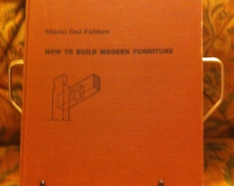 How to make Modern Furniture by Mario Dal Fabbro