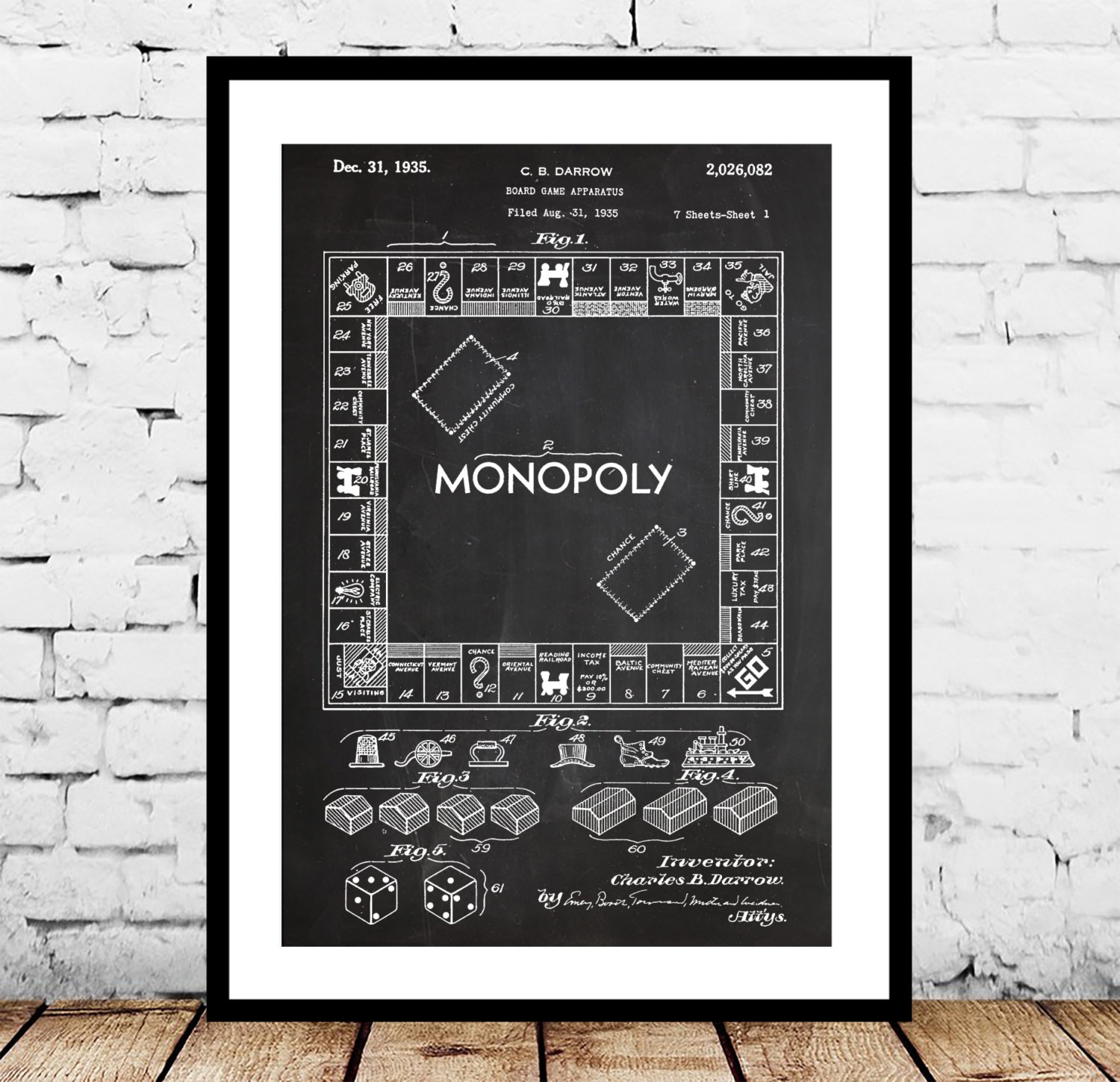Monopoly poster monopoly patent monopoly print monopoly art monopoly poster monopoly patent monopoly print monopoly art monopoly blueprint monopoly wall art board game malvernweather Gallery