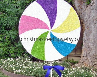 Candyland Party Decoration Candy Party Decor Candy land Party Decoration 10 Inch Giant Lollipop Sweet 16 Birthday Party Candy Decorations