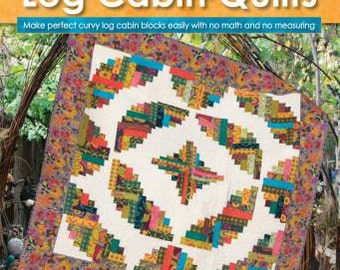 Curvy Log Cabin Quilts - by Jean Ann Wright - Landauer - Softcover # L113305