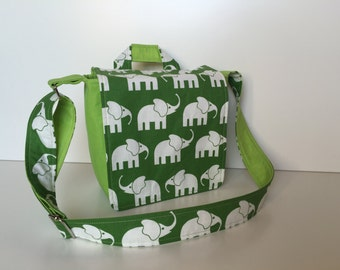 children's bag (S) 'Elephant Walk' green