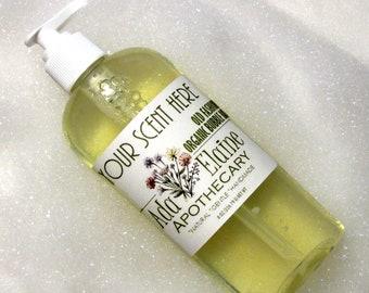 Organic Bubble Bath   Sulfate Free   Paraben Free   Natural Bubble Bath   Spa Gift   Gift Under 20   You Pick   8 oz