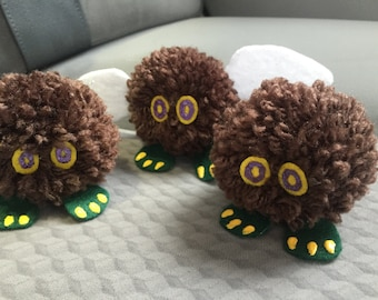 Kuriboh and Winged Kuriboh Pom-Poms