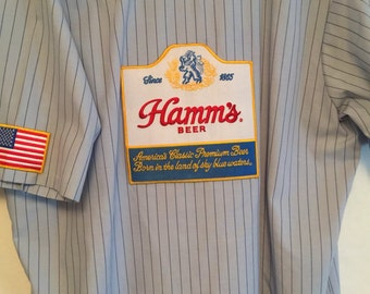 Hamm's or Old Style vintage work shirt