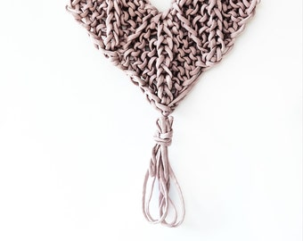 Wall Hanging Pattern Knitted Heart