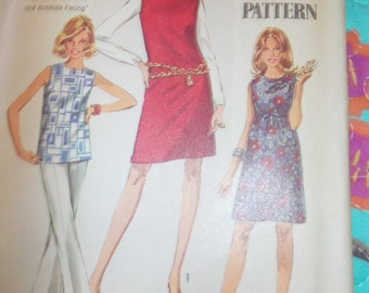 vintage simplicity sewing pattern 8297 womas dress