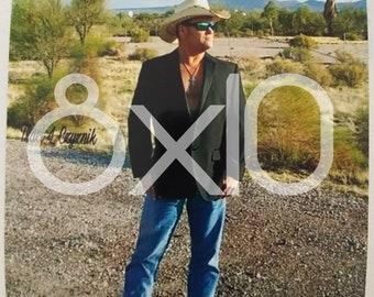 Hub Reynolds Jr. Country Music Artist 8x10 photo