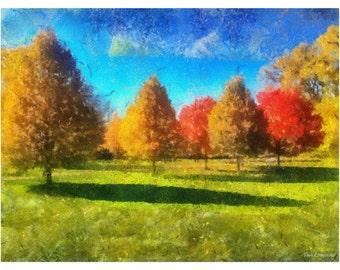 Autumnal Awakening Print