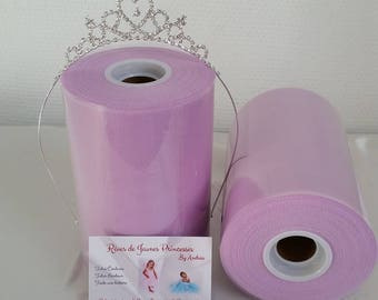 1 roll of purple tulle, high quality for making Princess tutu skirts and dresses, ceremonial