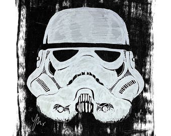 Portrait of A Storm Trooper