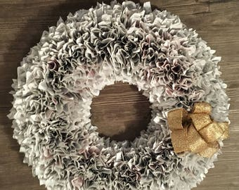 Paper Wreath 20 inches