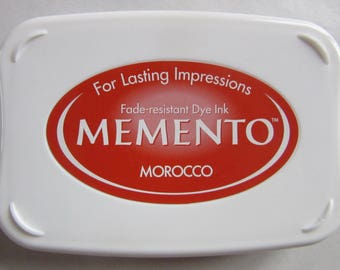 Ink-MEMENTO - red Morocco - Japan