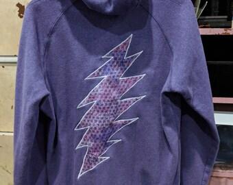 13 point bolt hoodie
