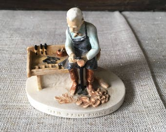"Sabastian miniatures - "" The Shoemaker"""