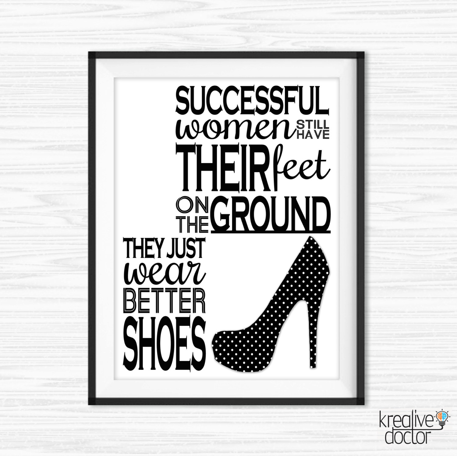 Success Quotes For Women Canvas Quotes Motivational Wall Decor Inspirational Print