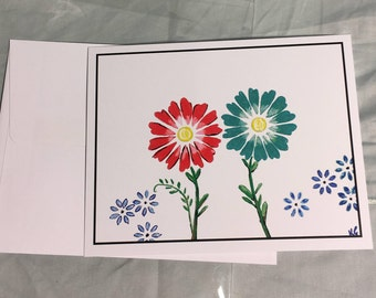 Note Card Flower 3