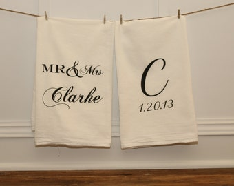 Custom Tea Towel Set