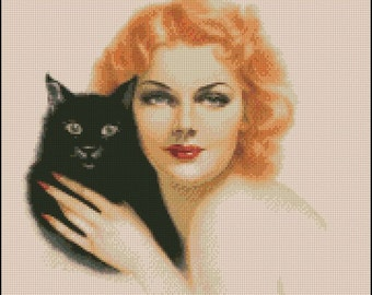 ANN SHERIDAN cross stitch pattern No.145