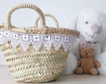 Small basket lace